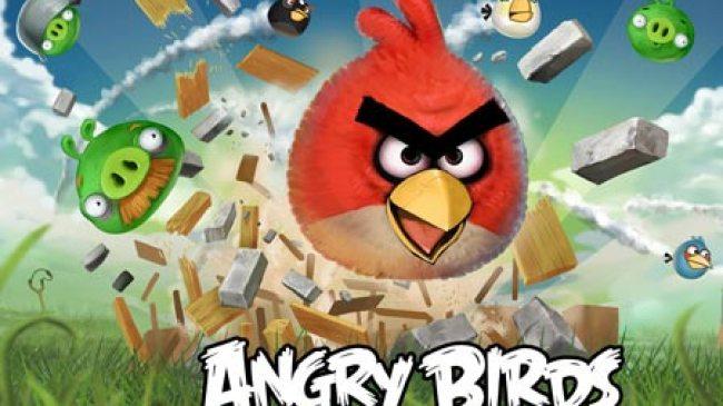 BlackBerry 10 Kehadiran Angry Birds