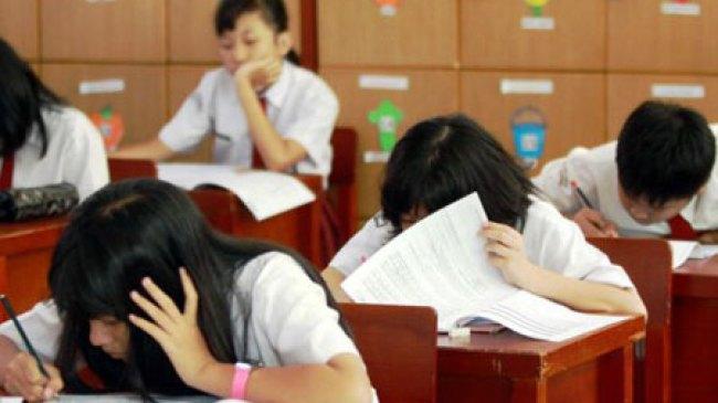 UNAS Ditiadakan, Siswa SD Tetap Ikuti Ujian Sekolah
