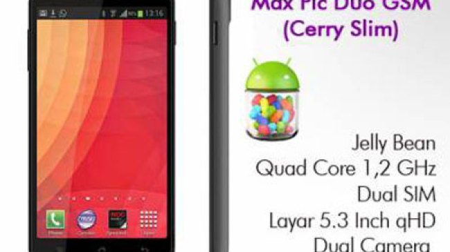 Spesifikasi Smartphone Android Cyrus Cerry Slim