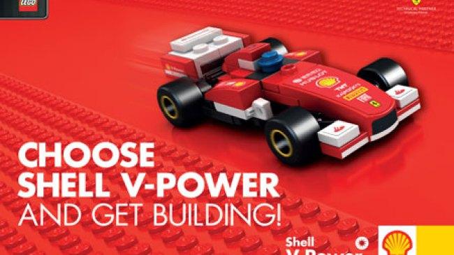 Mengintip Harga Shell V-Power LEGO