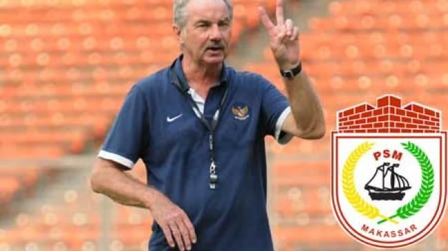 2015, Riedl resmi melatih PSM Makassar