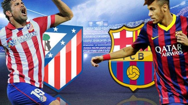 Trisula Maut Barcelona Melukai Atletico Madrid