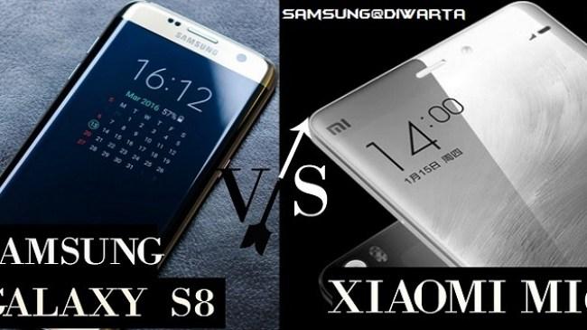 Xiaomi Mi6 , Saingan berat Samsung S8