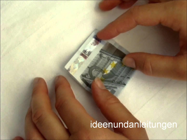 Geldscheine Falten Blume Mit Einem Schein Origami Apps Für Android