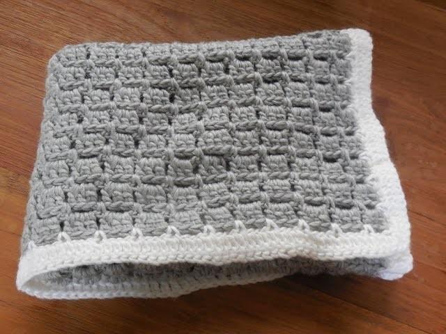 Babydeken haken baby blanket crochet beginner My Crafts
