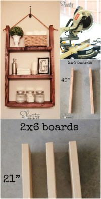 50 DIY Shelves - Build Your own Shelves - DIY & Crafts