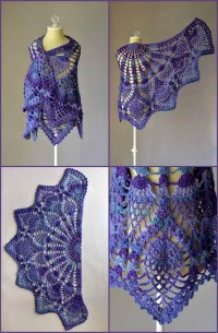 100 Free Crochet Shawl Patterns