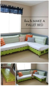 11 Pallet Bed Ideas - Step By Step Pallet Bed Frame ...