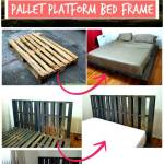 11 Diy Pallet Bed Frame Ideas With Step By Step Plans Diy Crafts