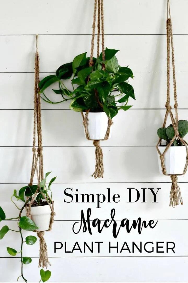 Macrame Plant Hanger 100 Best Macrame Ideas For Hanging