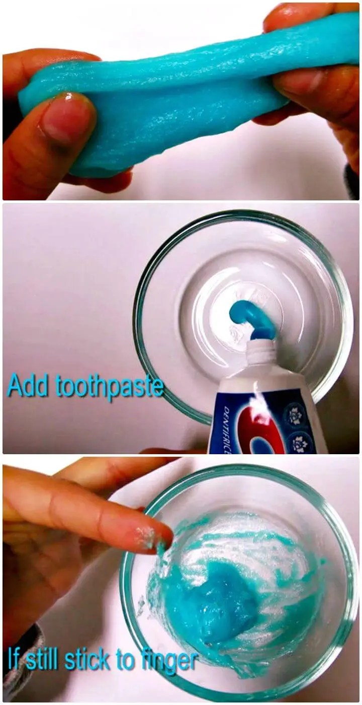 Slime Recipe With Toothpaste : slime, recipe, toothpaste, Slime, Recipe, Recipes, Crafts
