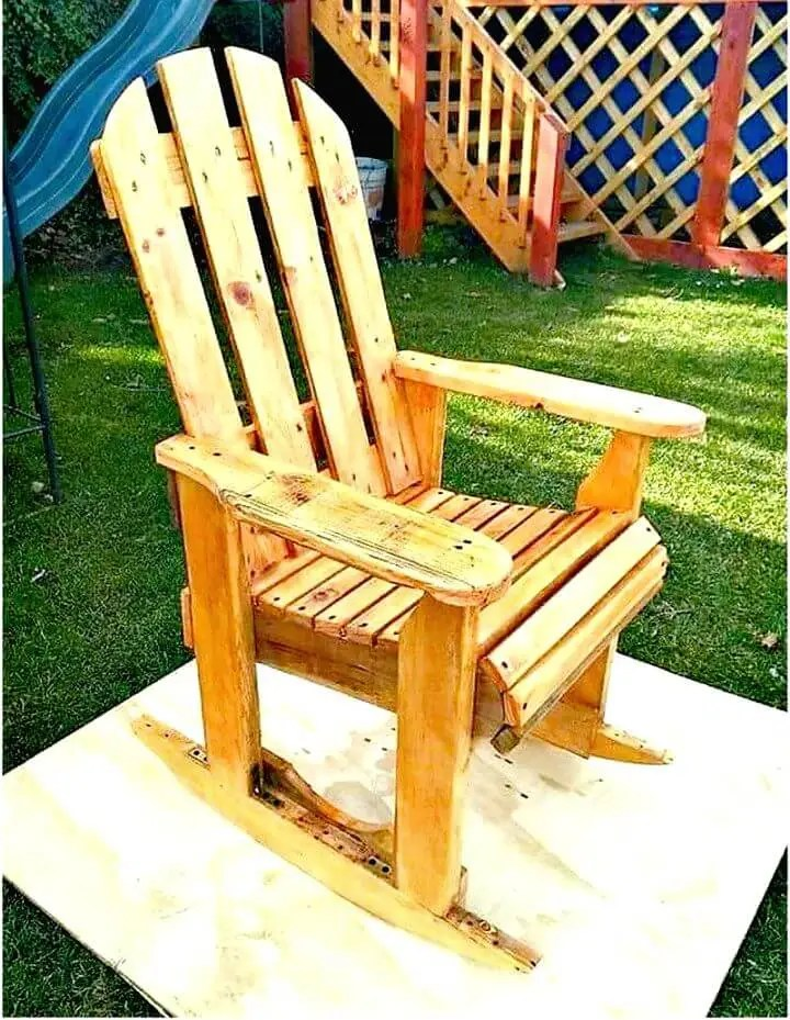 building a rocking chair sams club folding chairs 17 pallet plans to diy for your home at no cost crafts easy and simple wood pallets plan