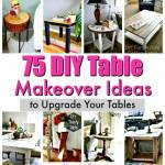 75 Diy Table Makeover Ideas To Upgrade Your Tables Diy Crafts