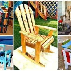 Diy Pallet Rocking Chair Plans Design Spandex Covers 17 To For Your Home At No Cost Crafts