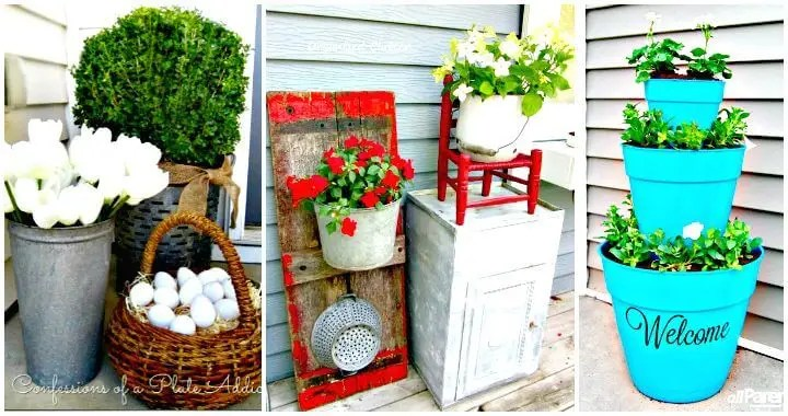 50 Cool DIY Patio & Porch Decor Ideas
