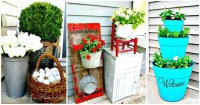 50 Cool DIY Patio & Porch Decor Ideas - DIY & Crafts