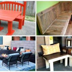 Benches For Living Rooms Room Themes Decorating Ideas 10 Diy Corner Bench Indoor Outdoor Crafts