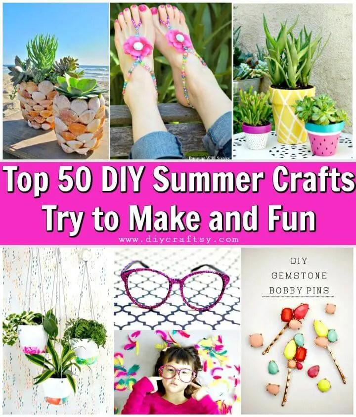 top 50 diy summer