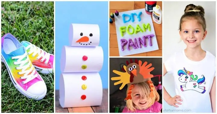 75 Easy Craft Ideas For Kids To Make At Home Diy Crafts For Kids Diy Crafts