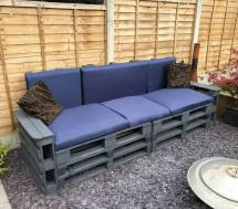 Diy Pallet Patio Furniture Projects & Ideas - Crafts