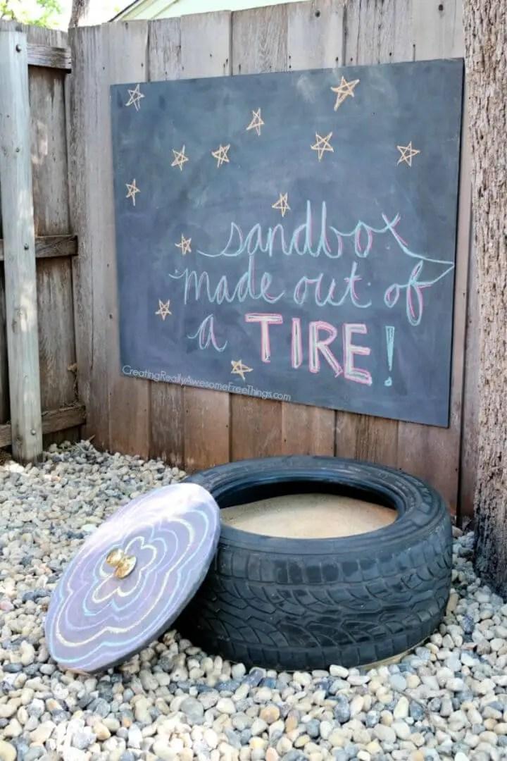 DIY One Sheet Plywood Sandbox