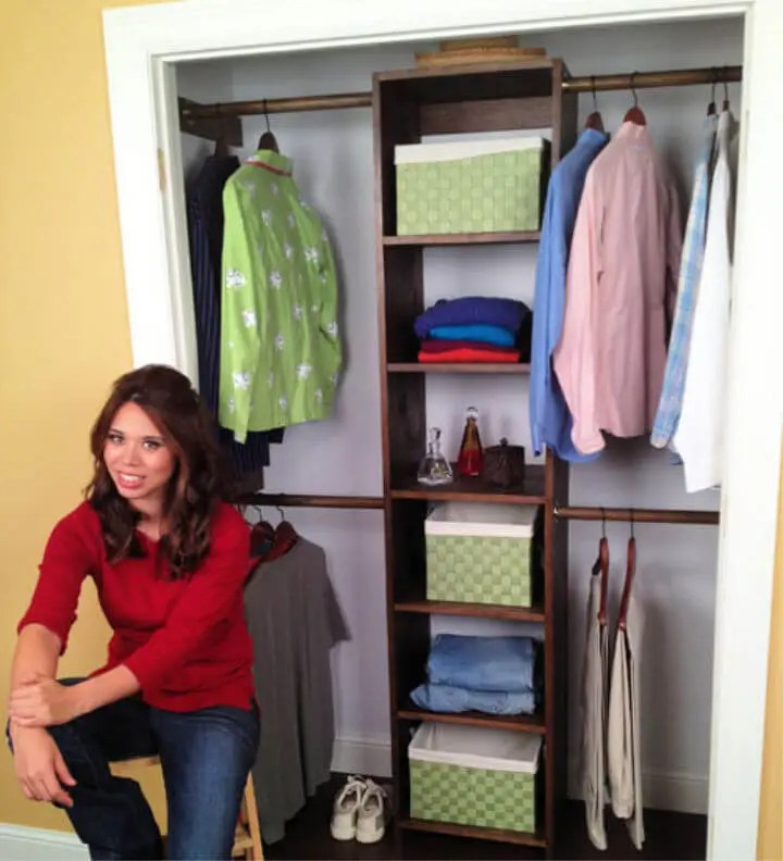 Make Closet Organizer from One Sheet of Plywood
