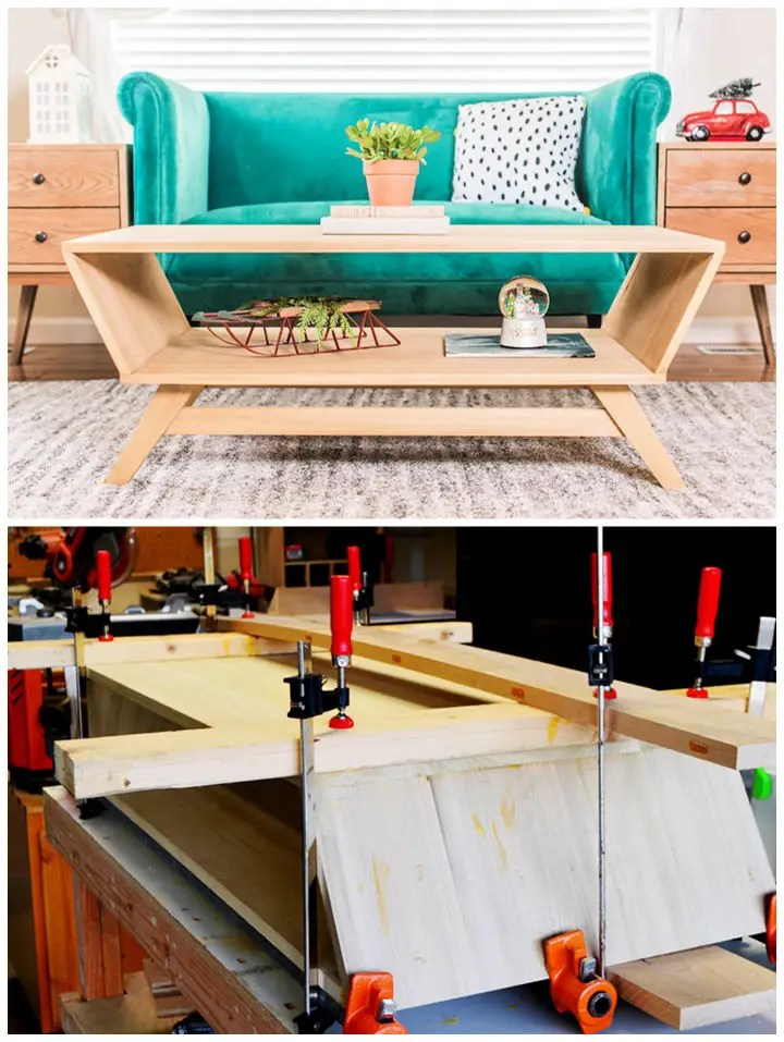 diy coffee table plans anyone can build