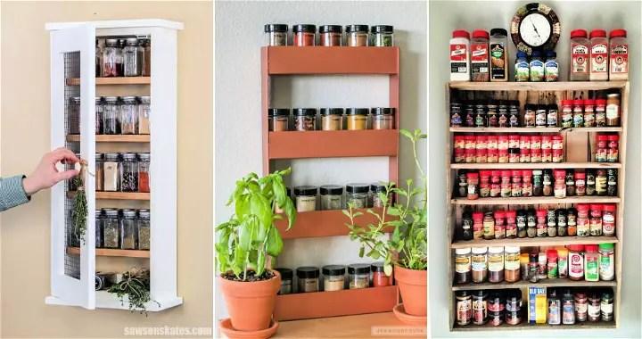 35 cheap diy spice rack ideas best