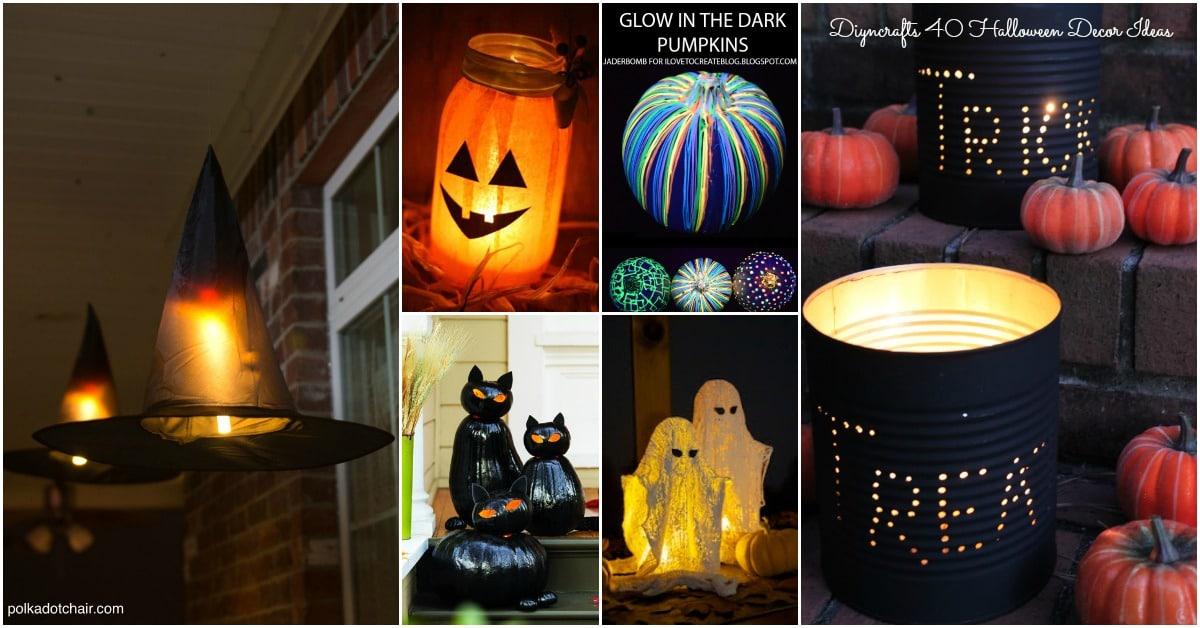 40 Easy To Make Diy Halloween Decor Ideas Diy Crafts