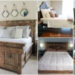 21 Diy Bed Frame Projects Sleep In Style And Comfort Diy Crafts