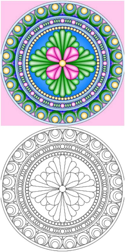 15 Amazingly Relaxing Free Printable Mandala Coloring ... | free printable mandala coloring pages for adults