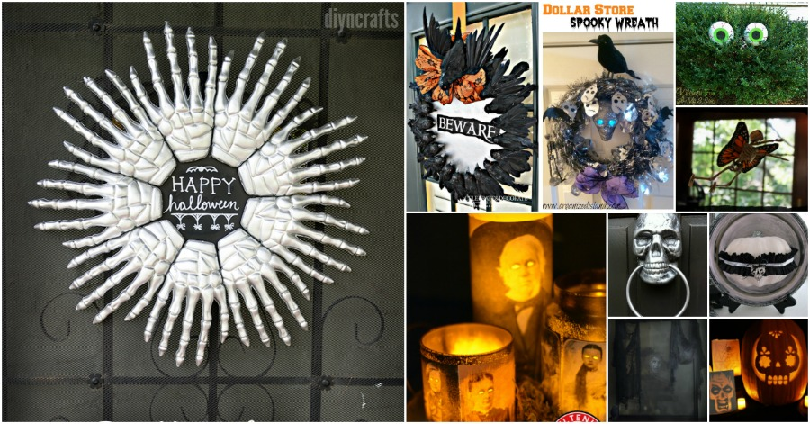 30 Frugally Decorative Dollar Store Halloween Crafts And Decorations For Spooky Fun Diy Crafts