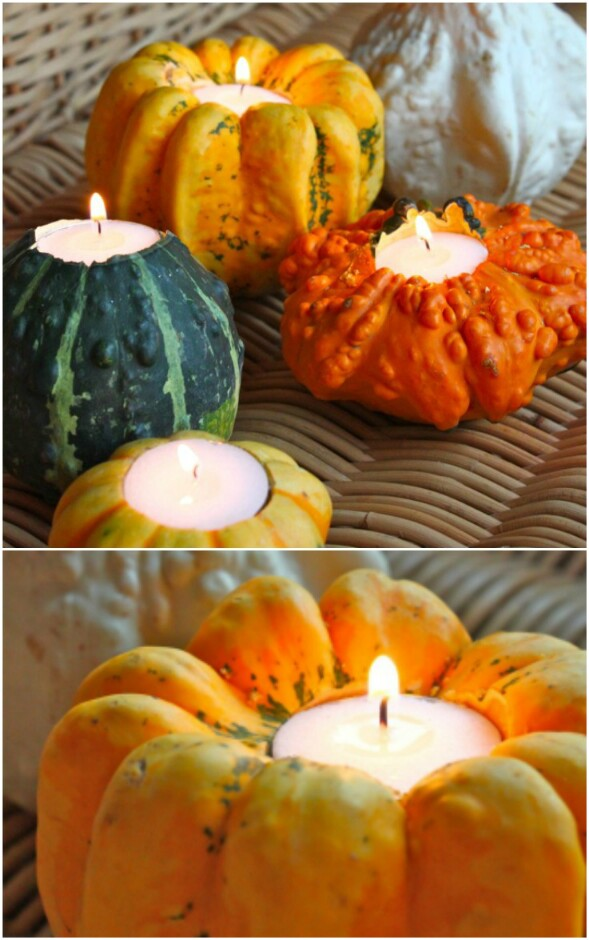 Gourd Candles