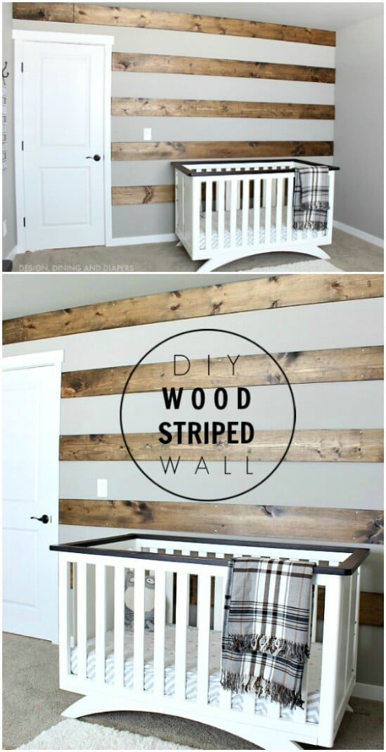 36 wood striped wall diyncraftscom farmhouse furniture collection 1
