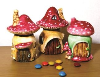 How to Transform an Old Jar Into a Mushroom Fairy House DIY & Crafts