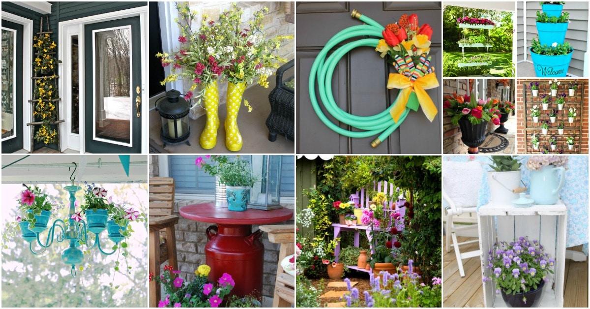 25 creative diy spring porch decorating