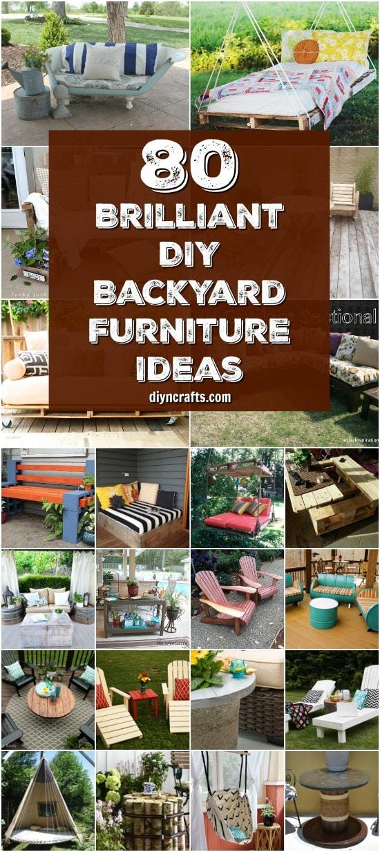 diy backyard furniture ideas