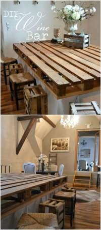 10 Brilliantly Rustic DIY Pallet Kitchen Furniture Ideas ...