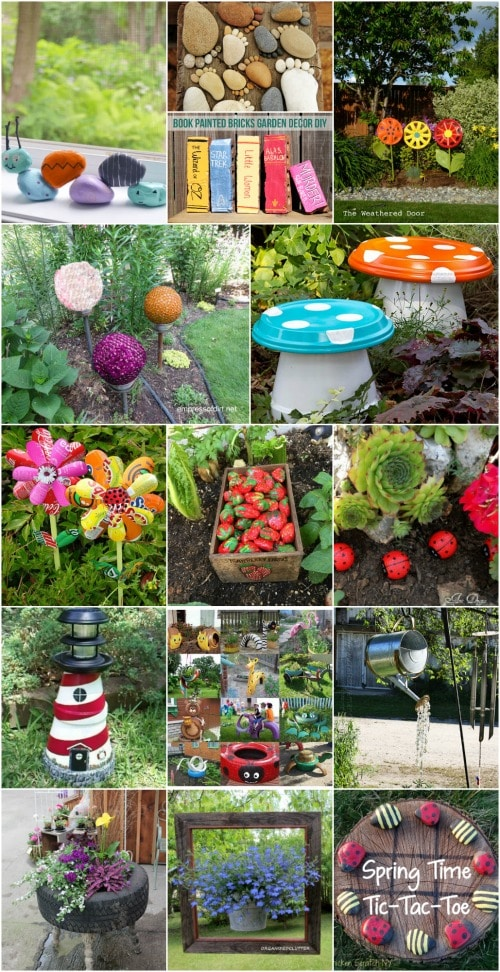 30 adorable garden decorations to add