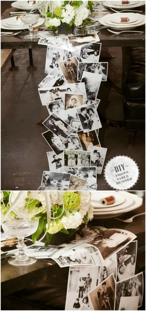 25 diy wedding photo display ideas to