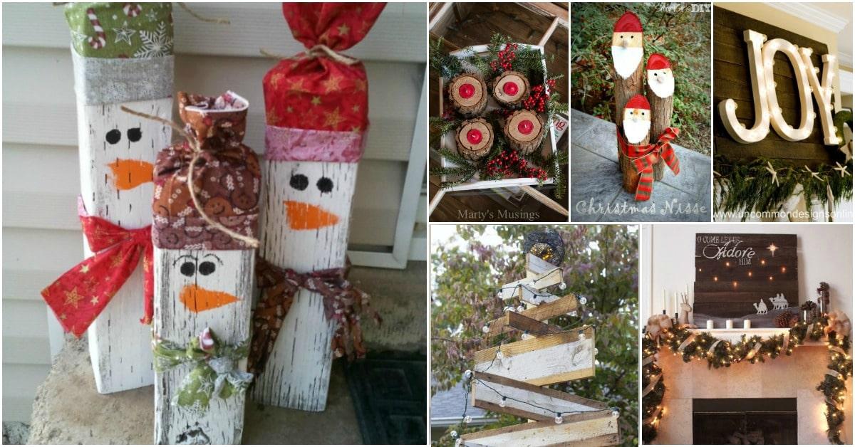 Wood Craft Christmas Ornaments