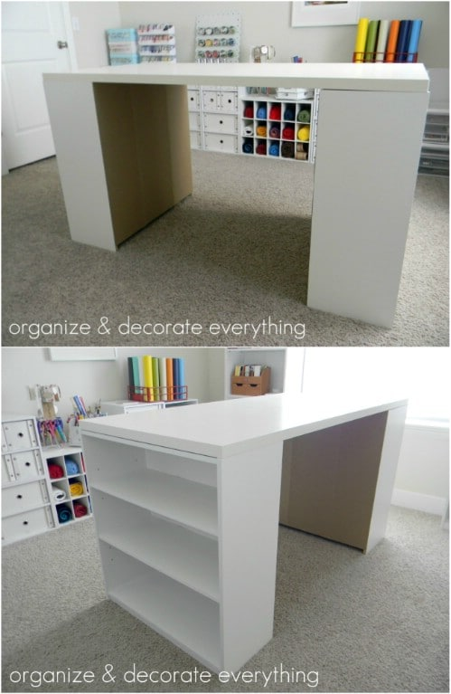 17 Easy To Build DIY Craft Desks You Just Cant Live Without  DIY  Crafts