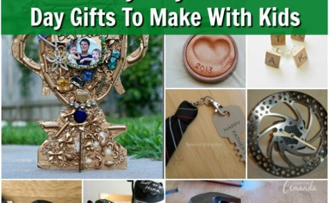 25 Adorably Easy Diy Father S Day Gifts To Make With Your