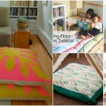 22 Easy Diy Giant Floor Pillows And Cushions That Are Fun And Relaxing Diy Crafts
