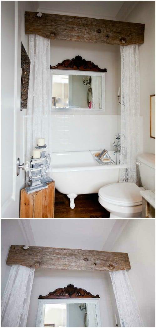 25 DIY Rustic Bathroom Dcor Ideas To Give Your Bathroom