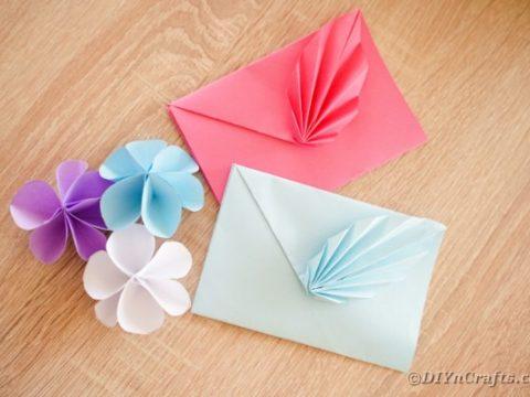 Decorative Origami Paper Envelope Craft Video Tutorial Diy Crafts