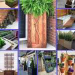 32 Ingenious Diy Built In Planters For Small Space Gardens Diy Crafts