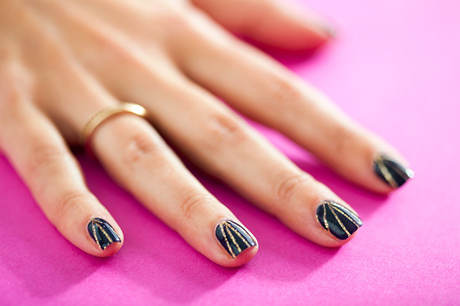 5 Simple Nail Art Tutorials For Beginners Best Nail Designs Hair