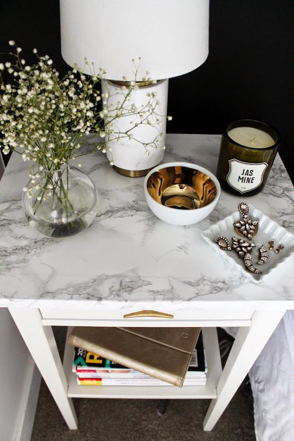 lack sofa table as desk walmart mexico cama 25 genius ikea hacks faux marble bedside
