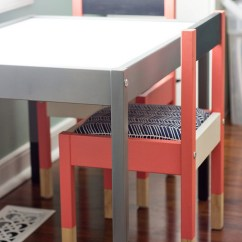 Ikea Childrens Chair 2 Red Plastic Chairs 25 Genius Table Hacks Colorful Kids